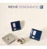 Anstecker Mehr Demokratie e. V. Logo