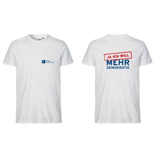 T-Shirt JA ICH WILL MEHR DEMOKRATIE