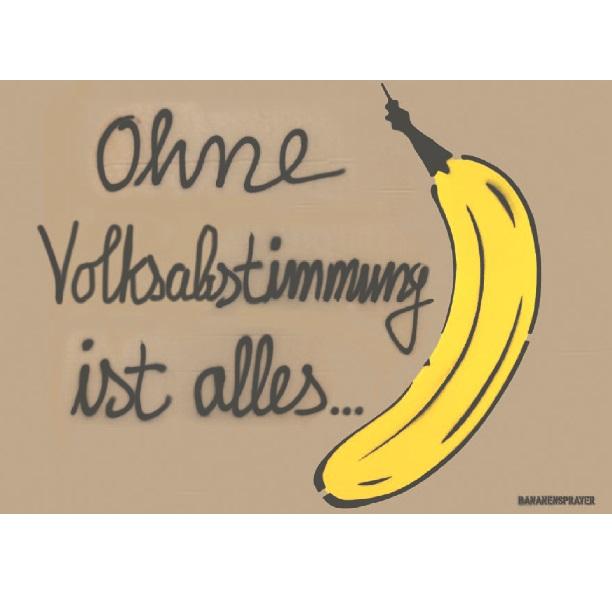 Postkarte MD Banane